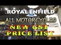 NEW ROYAL ENFIELD ALL MOTORCYCLES PRICE LIST AFTER GST ONROAD PRICE