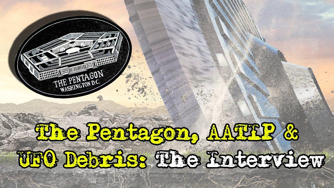 The Pentagon, AATIP & UFO Debris: The Interview