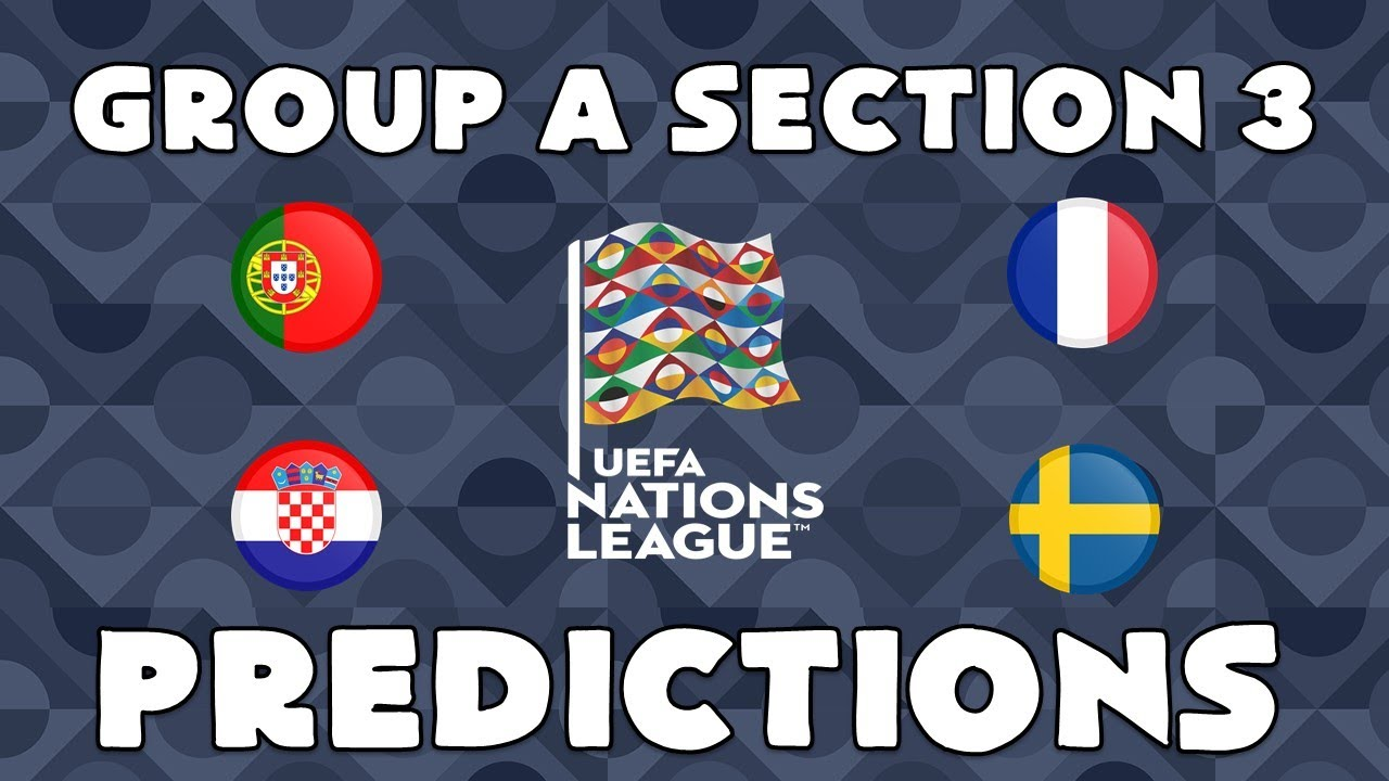 2020 21 Uefa Nations League A Group 3 Predictions Youtube