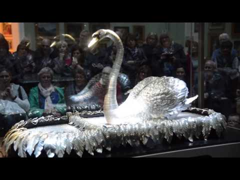 Bowes Museum Silver Swan