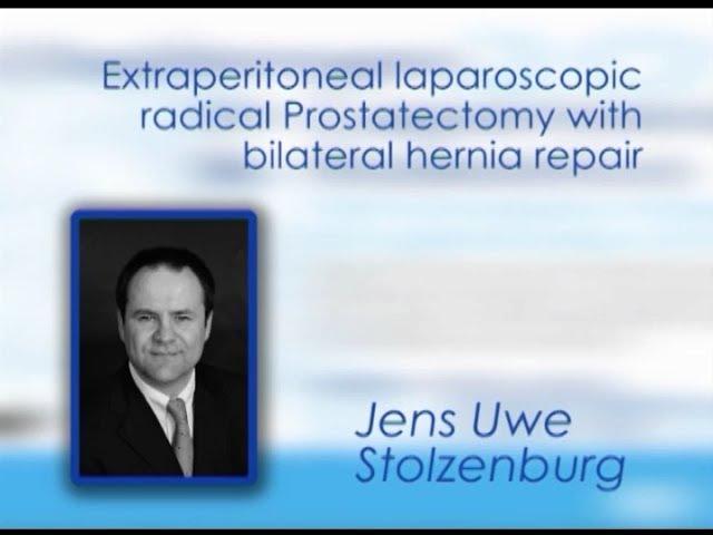 CILR 2012 - Jenz-Uwe Stolzenburg - Extraperitoneal laparoscopic radical prostatectomy