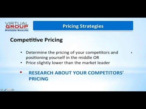 VIP Webinar - Pricing Strategies