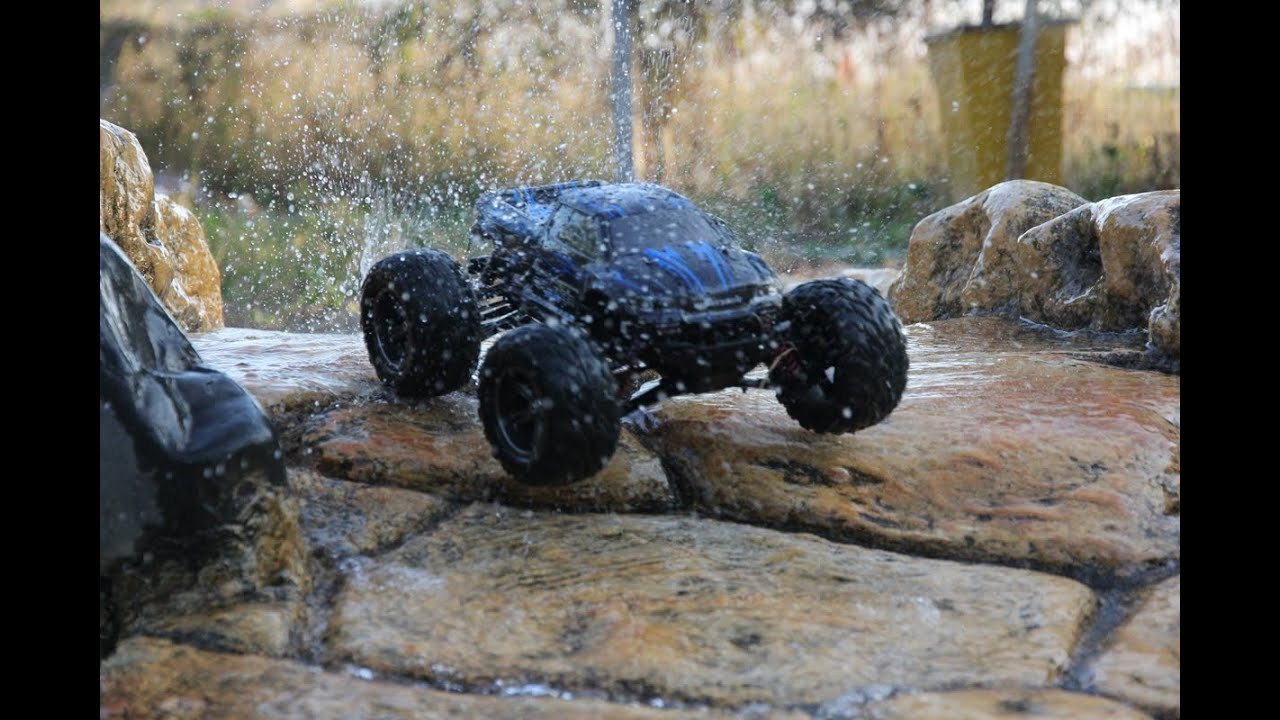 Amosting Rc Car Remote Control Monster Truck Red Youtube Diagram In Addition Waterproof Also Wireless