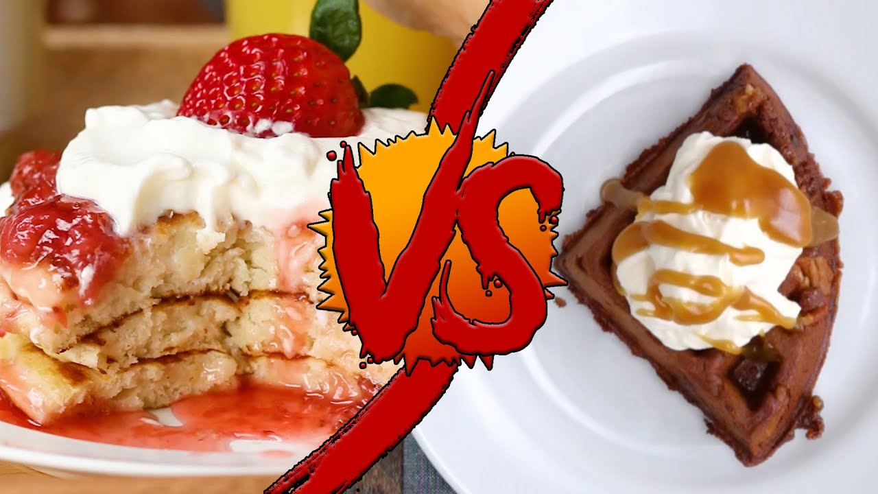 maxresdefault - Pancakes Vs. Waffles - YouTube