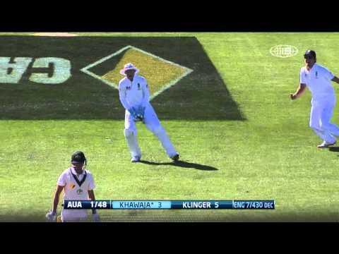 Australia's wicket in Hobart