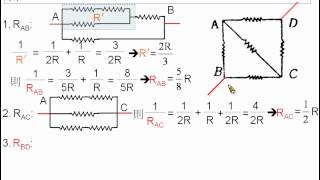 [物理教學影片]範例:惠司同電橋與簡單電路