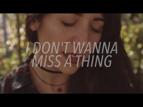 Aerosmith - I Don't Want to Miss a Thing | Acoustic by Bely Basarte