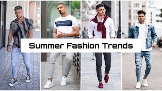 Men s Summer Fashion Trends Latest The Men Style Outfits Ideas in 2019 Men s Outfits YouTube