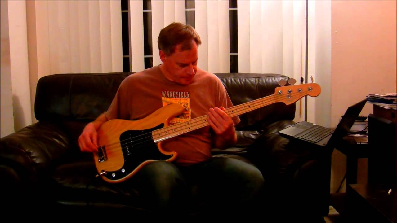 song 2 bass cover with boss odb 3 bass overdrive pedal youtube. Black Bedroom Furniture Sets. Home Design Ideas