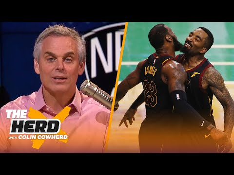 Colin questions if JR Smith is enough for LeBron & Lakers, talks KD leaving Warriors | THE HERD