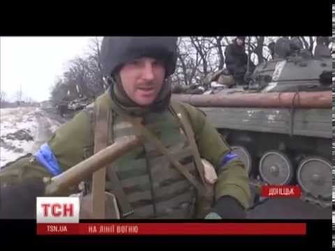 Ukrainian counteroffensive: Large-scale tank battle for the Donetsk airport, 17.01.2015