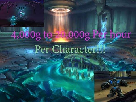 Legion 7.2, Old world Gold Farm (4k-10k per hour)