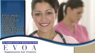 EVOA AREDS2 Eye Vitamins - May slow the advancement of Dry Macular Degeneraion