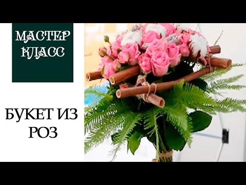 Букет из 101 розы  Два цвета