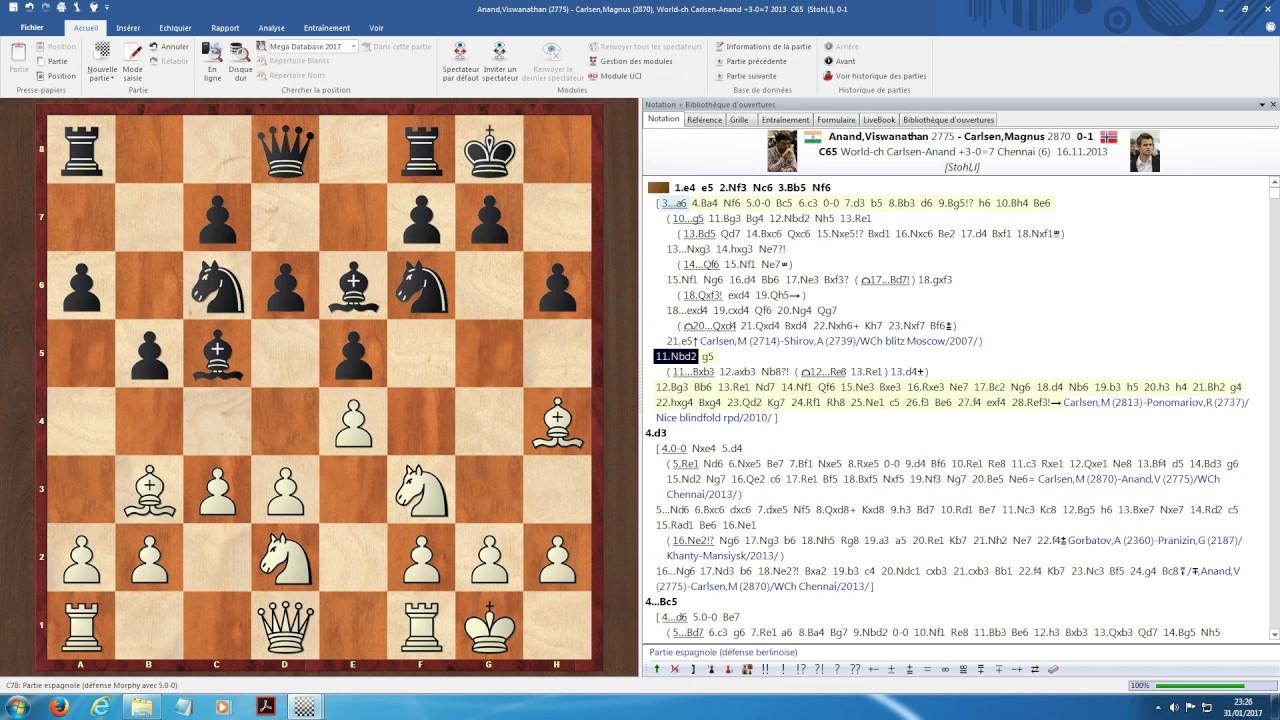 ChessBase 14 - Analyses Colours (en français)