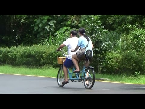 Biking Dating With MIT Bicycle, AIBIKE Tandem Bicycle 2 Seats_ What Else ?