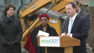 South Acton Train Station Ground Breaking 12/20/12
