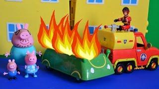 Peppa pig Fireman sam lego Paw patrol remix 2016 Story