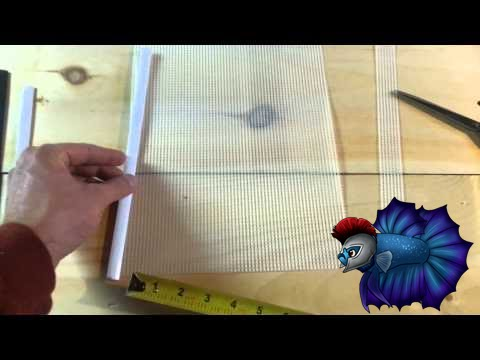 DIY Divider For Fish Tank For Less Than $2 - YouTube