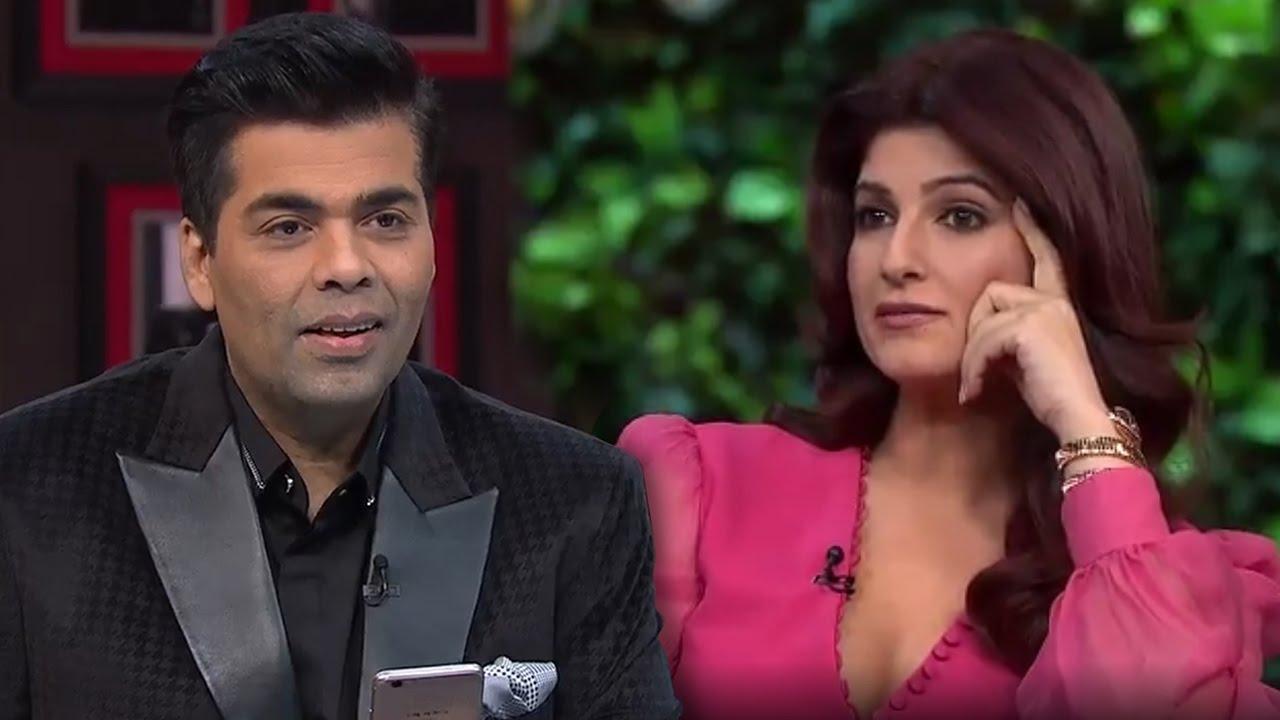 Twinkle Khanna Exposes Karan Johars Sexual Fantasies
