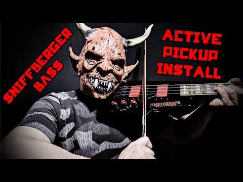 Steinberger Spirit Bass Active EMG Pickups Install