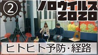 【ノロウイルス勉強会2020】第二話 ヒトヒト予防・経路