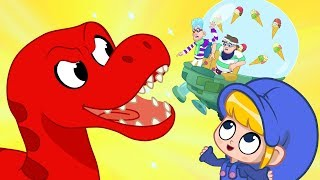Morphle dropped his Icecream! My Magic Pet Morphle episodes for kids (T-Rex, Turtle, Spinosarus) thumbnail