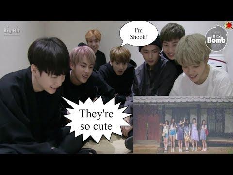 (BANGCHIN) BTS REACTION TO GFRIEND LOVE WHISPER MV