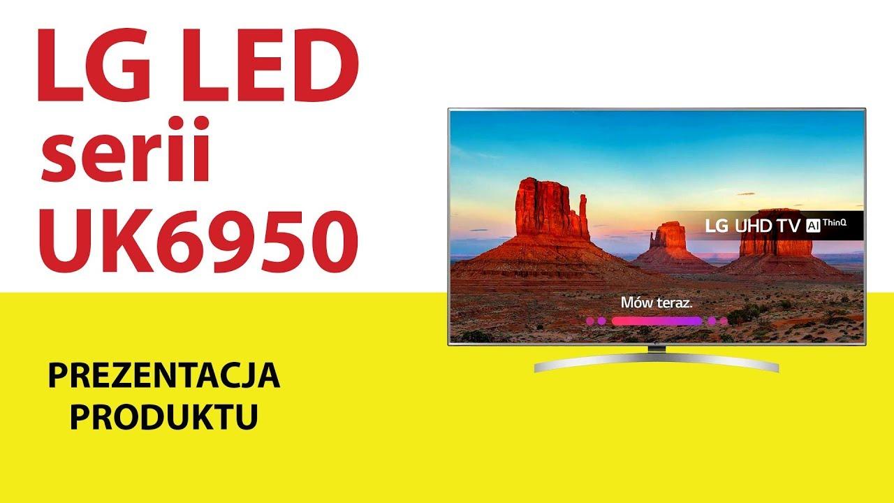 Telewizory LG serii LED UK6950