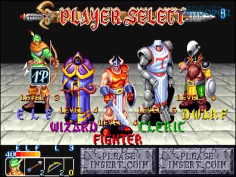 The King Of Dragons 1991 Capcom Games Arcade Coinop Juegos Coinop