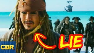 10 Lies You Were Told About Captain Jack Sparrow