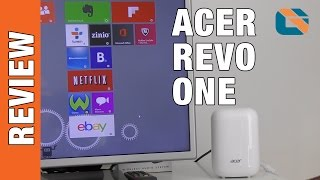 Acer Revo One RL85 Mini PC Review #Acer