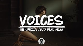 Gambar cover The Official Delta - Voices (feat. Riiza) (Lyrics Video)