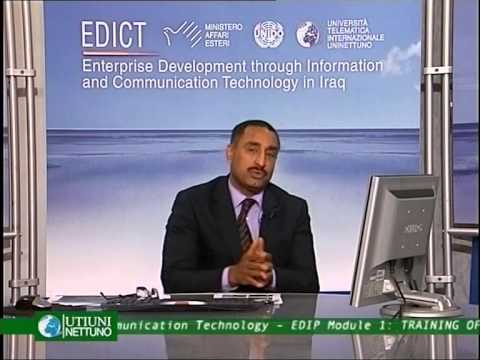 Module 1 Lec. 1 - UNIDO - Arab regional center for entrepreneurship and investment training