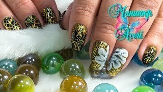 Дизайн ногтей с фольгой  AliExpress. Китайская роспись гель лаком