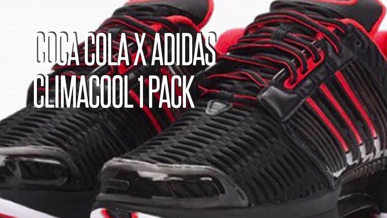 new arrivals a5c43 a9065 COCA COLA x ADIDAS CLIMACOOL 1 PACK SNEAKERS STAR
