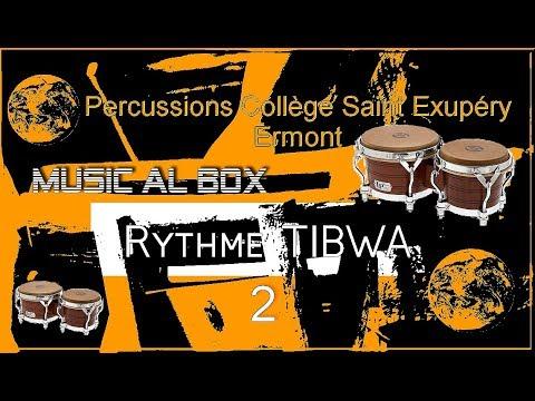 Percussions Rythme Tibwa (Bongos) Collège Saint Exupéry Ermont