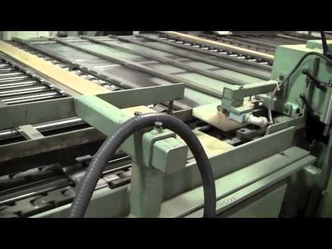 Allegheny Mountain Hardwood Flooring Plant -- Production