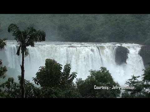 Athirappilly & Charpa Waterfalls - Monsoon - HD