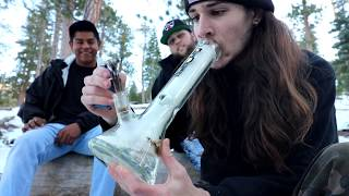 SNOW PACKED BONG RIPS