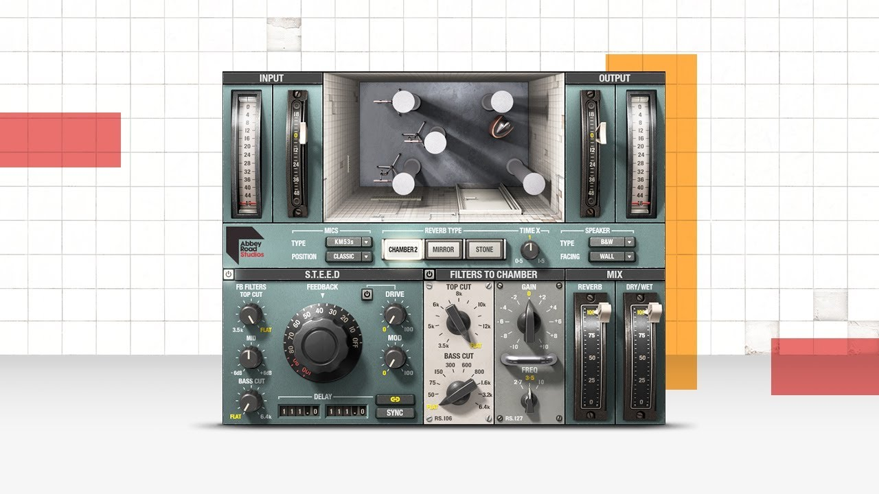 Waves Abbey Road Chambers Reverb Plugin Audio Demos Youtube