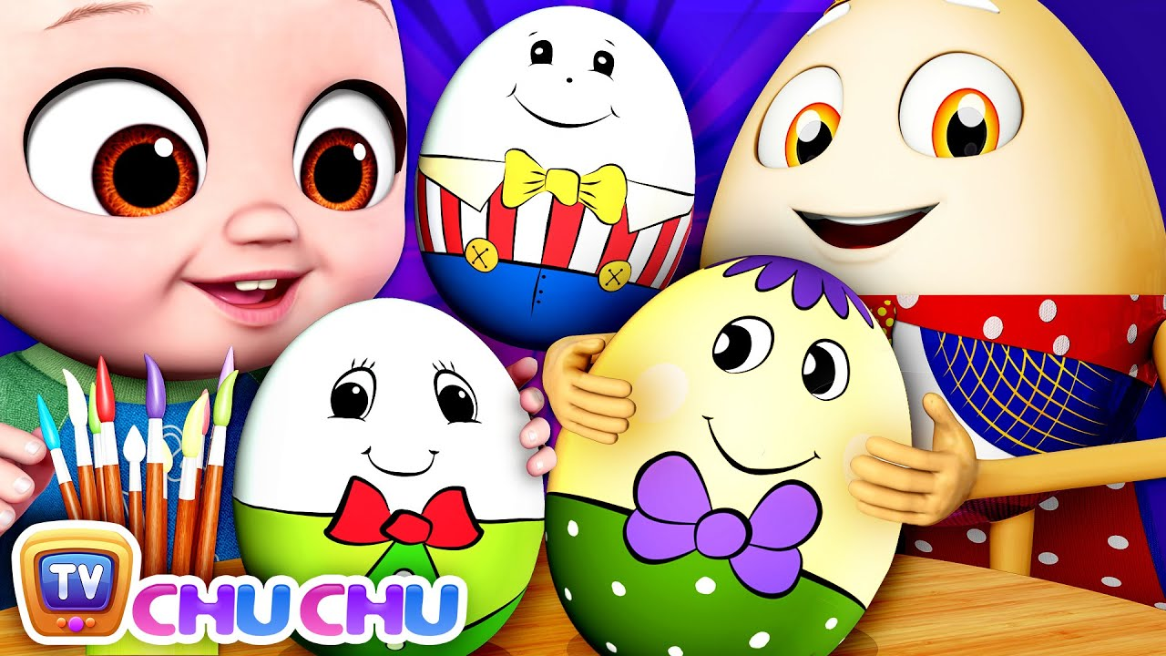 The Humpty Dumpty Game - ChuChu TV Baby Nursery Rhymes & Kids Songs