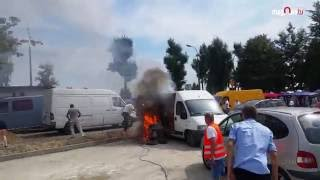 Pożar podczas odpustu Św. Rocha (prod. Magnes.TV)