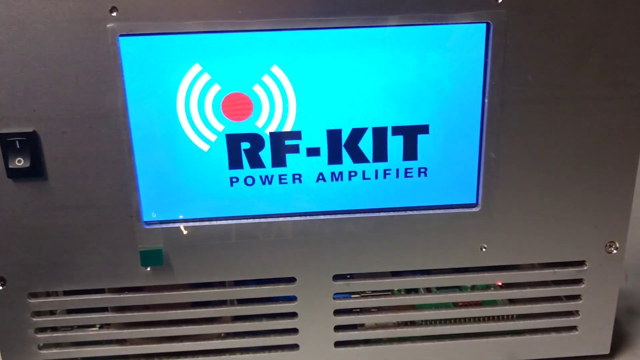 RF-Kit B26 RF 2k Kit #2 Mounting fans and jumpers- First power-up
