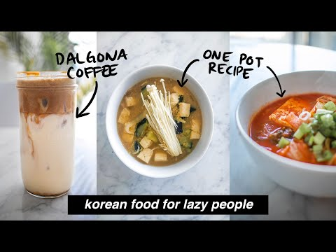 Easy Korean Food Recipes: Full Day Of Eating