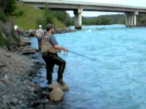 Klutina river salmon fishing alaska youtube for Alaska out of state fishing license