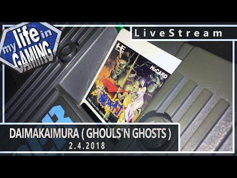 Daimakaimura / Ghouls'n Ghosts on the Super Grafx :: 2.4.2018 LiveStream / MY LIFE IN GAMING - Daimakaimura / Ghouls'n Ghosts on the Super Grafx :: 2.4.2018 LiveStream / MY LIFE IN GAMING