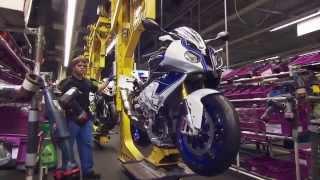 Как собирают мотоцикл BMW S 1000 R