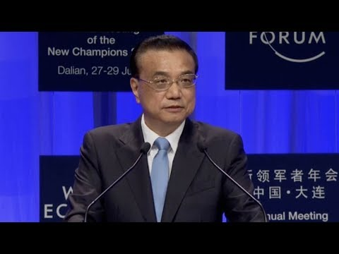 Chinese Premier Li Keqiang opens Summer Davos 2017 with keynote speech