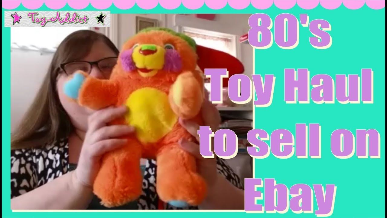 80 S Toy Haul To Sell On Ebay My Little Pony Popples Dolls Strawberry Shortcake Toy Addict Youtube